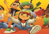 Subway surfers бег